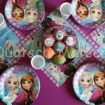 Eiskönigin Party Deko für den Kindergeburtstag