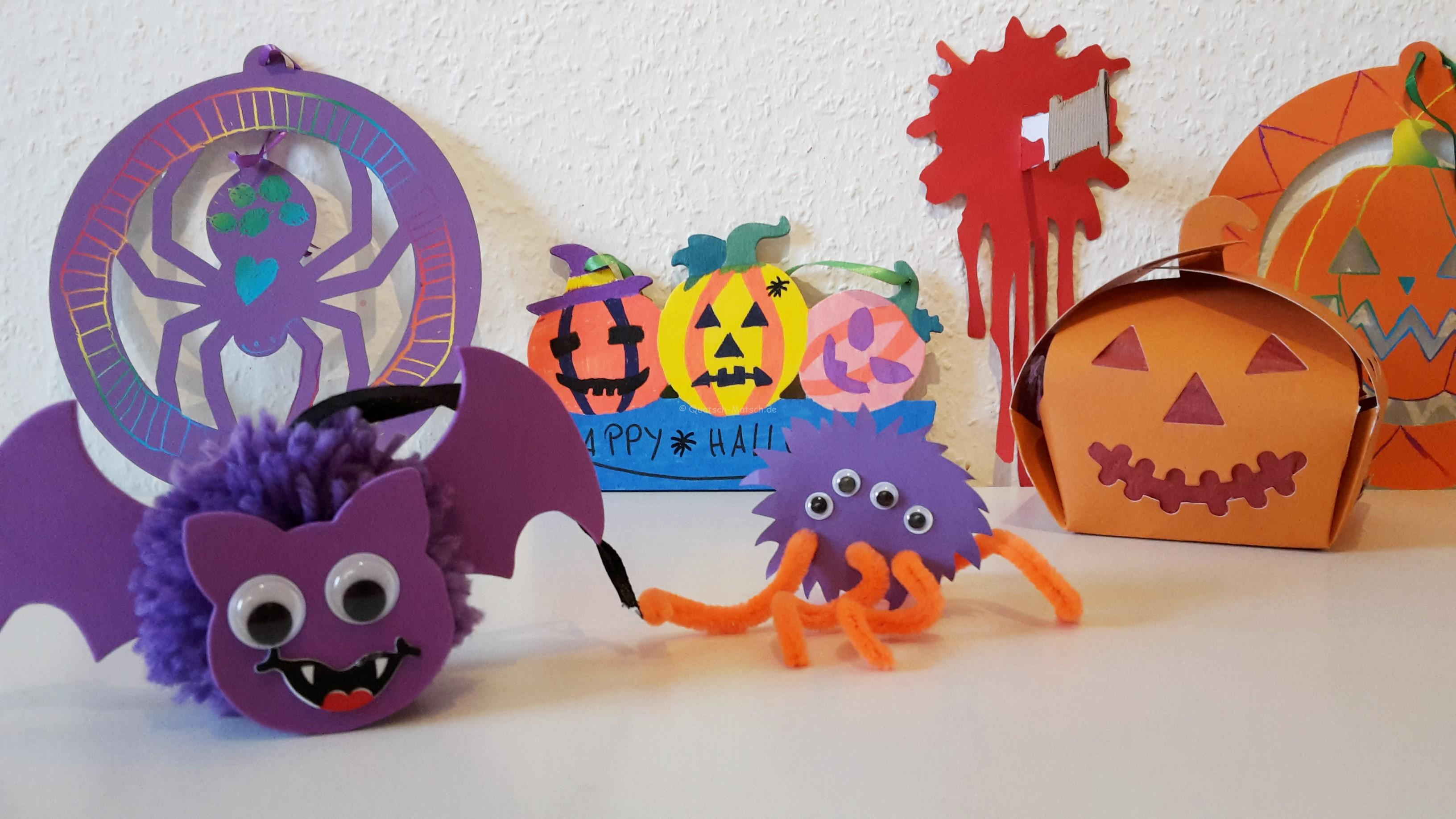 Halloween basteln mit Bakerross