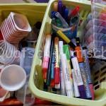 Meine Bastelmaterialien Teil I – Farben