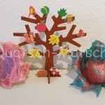 Blätterschale mit Modelliermasse basteln