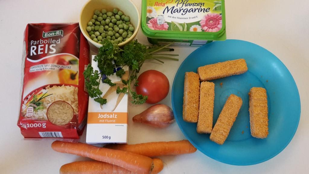 Gemüsereis quatsch matsch