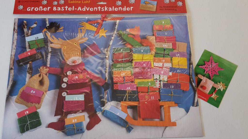 Gerstenberg verlag Basteladventskalender