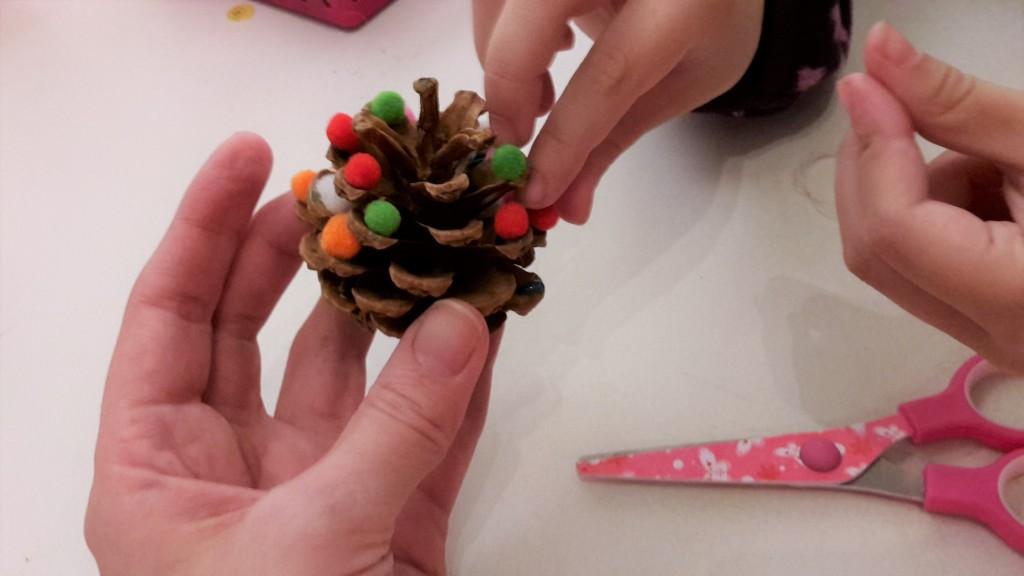 basteln mit kindern weihnachten
