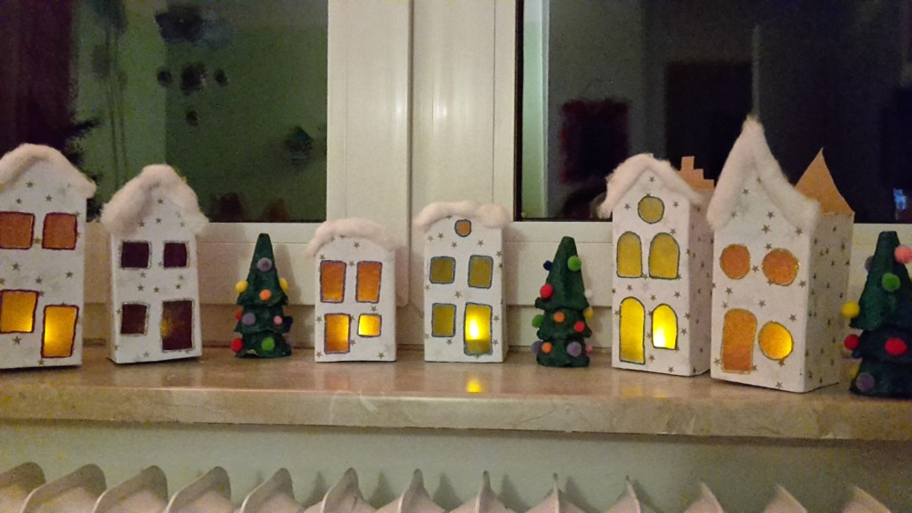weihnachten basteln upcycling diy