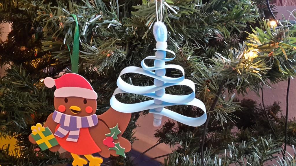 weihnachtbaum papier selber machen