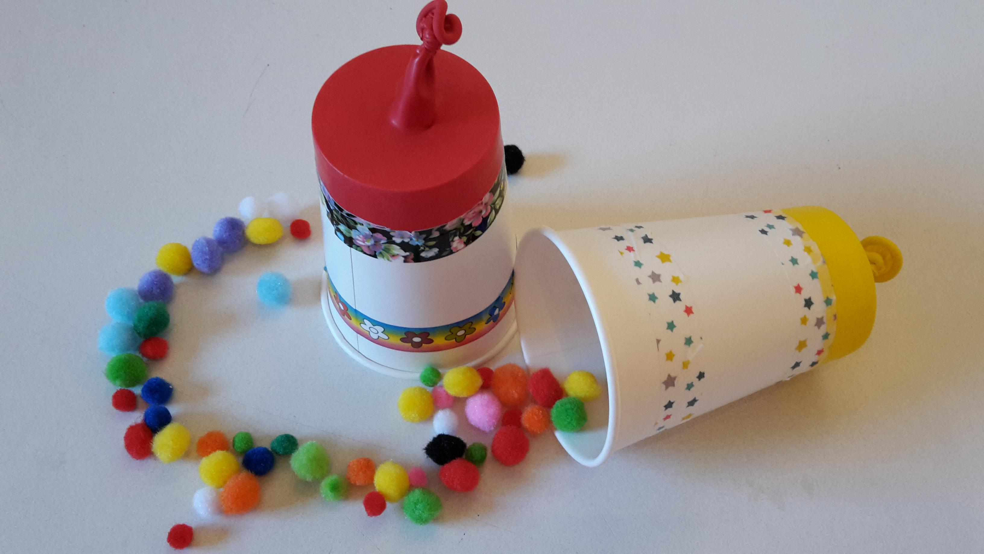 Pom Pom / Konfetti Kanone – DIY