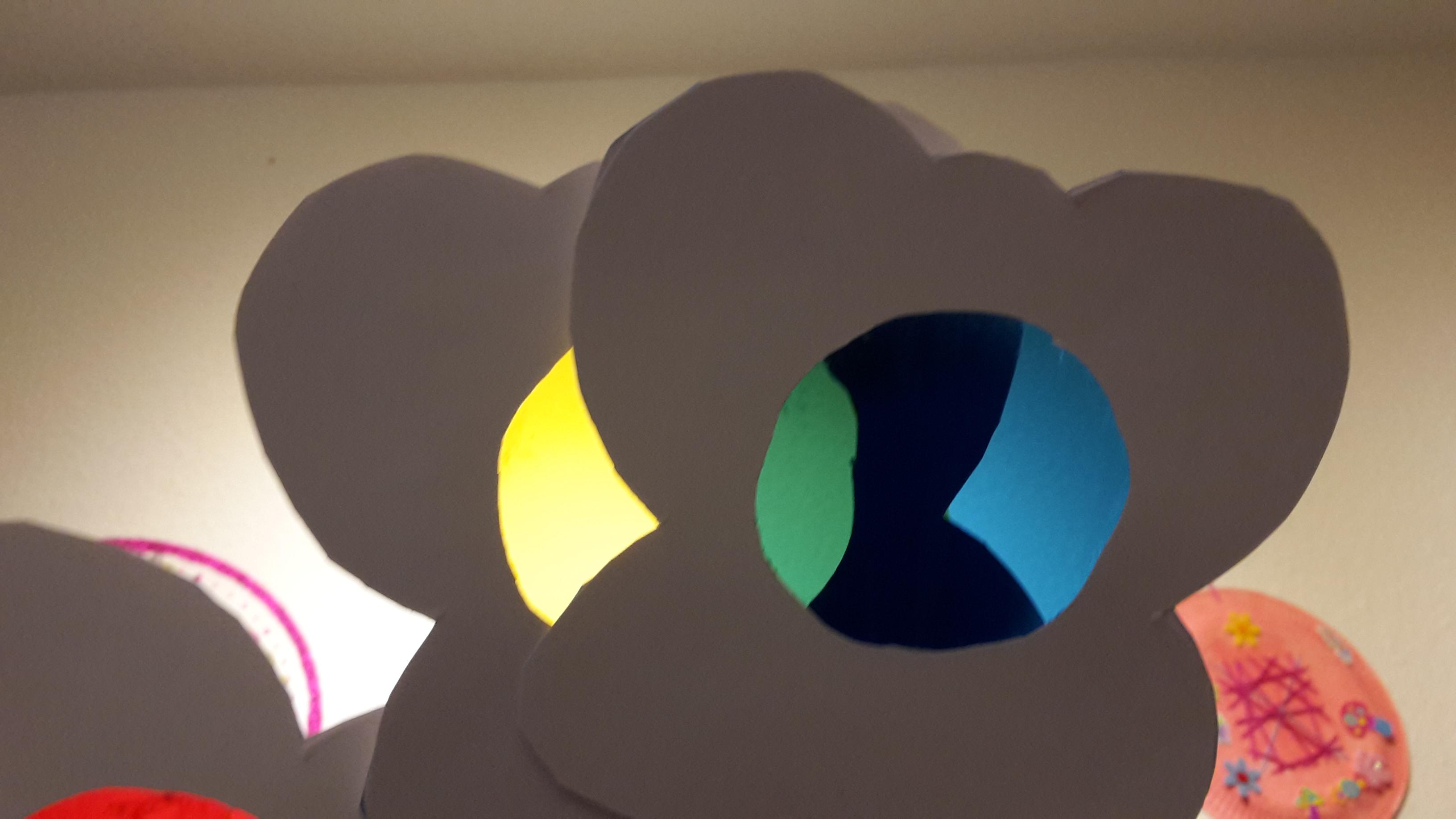 Farbenfächer – Farbenlehre – Experiment