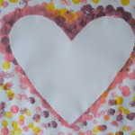 Valentinstag Herz Pom Pom Bild