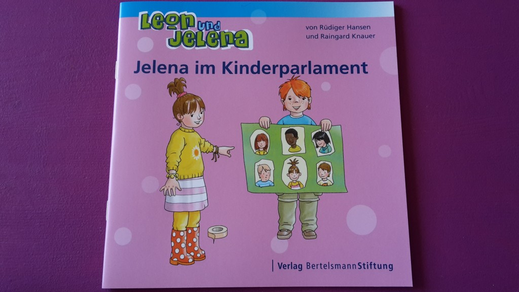 Leon und Jelena - jelena im Kinderparlament