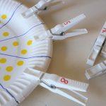Mit Wäscheklammern zählen lernen – Montessori