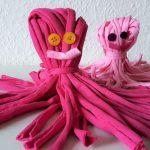 Kraken aus Wolle – Basteln mit Kindern