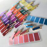 Farben sortieren mit Wäscheklammern – Montessori