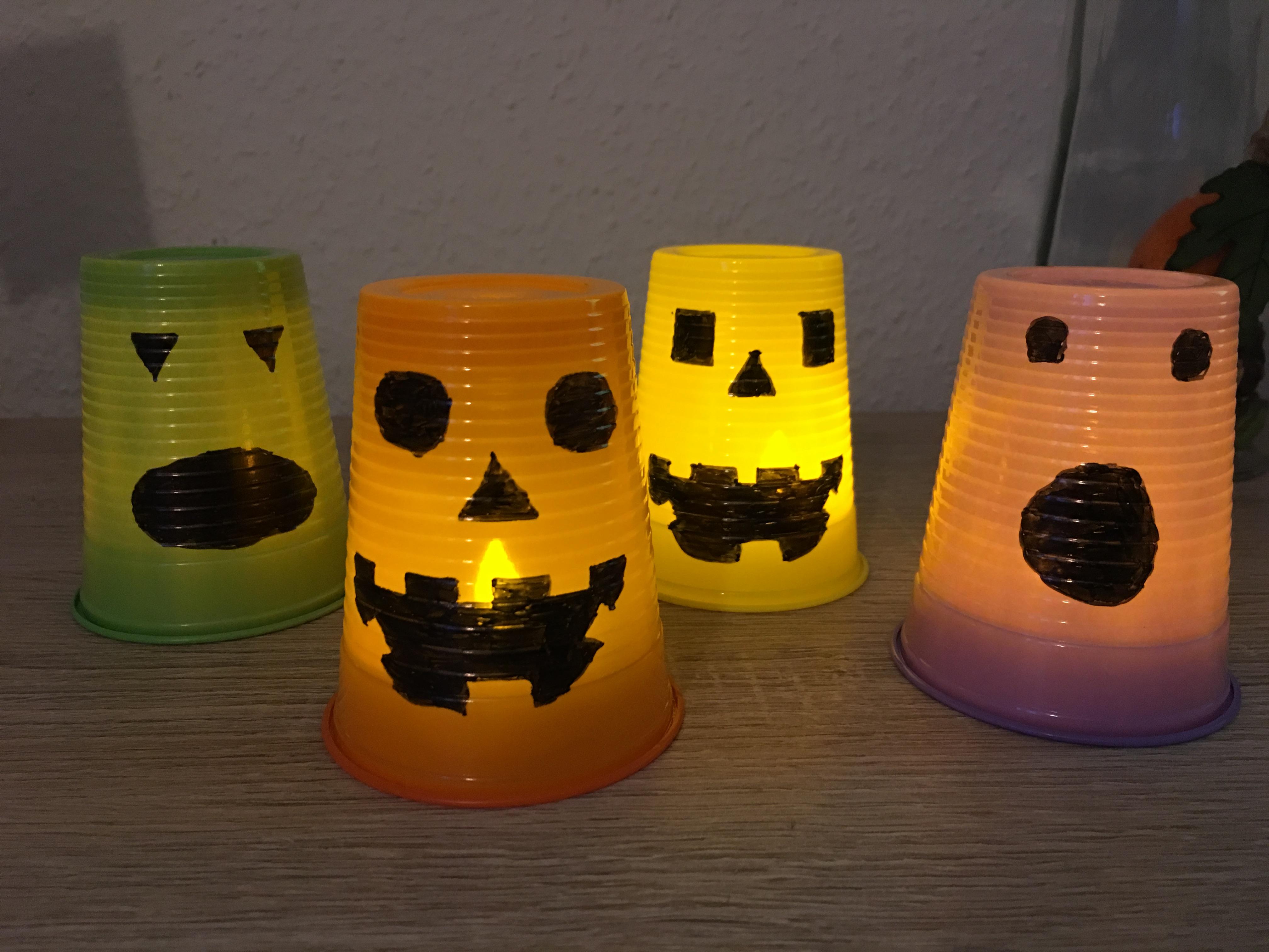halloween grusellicht