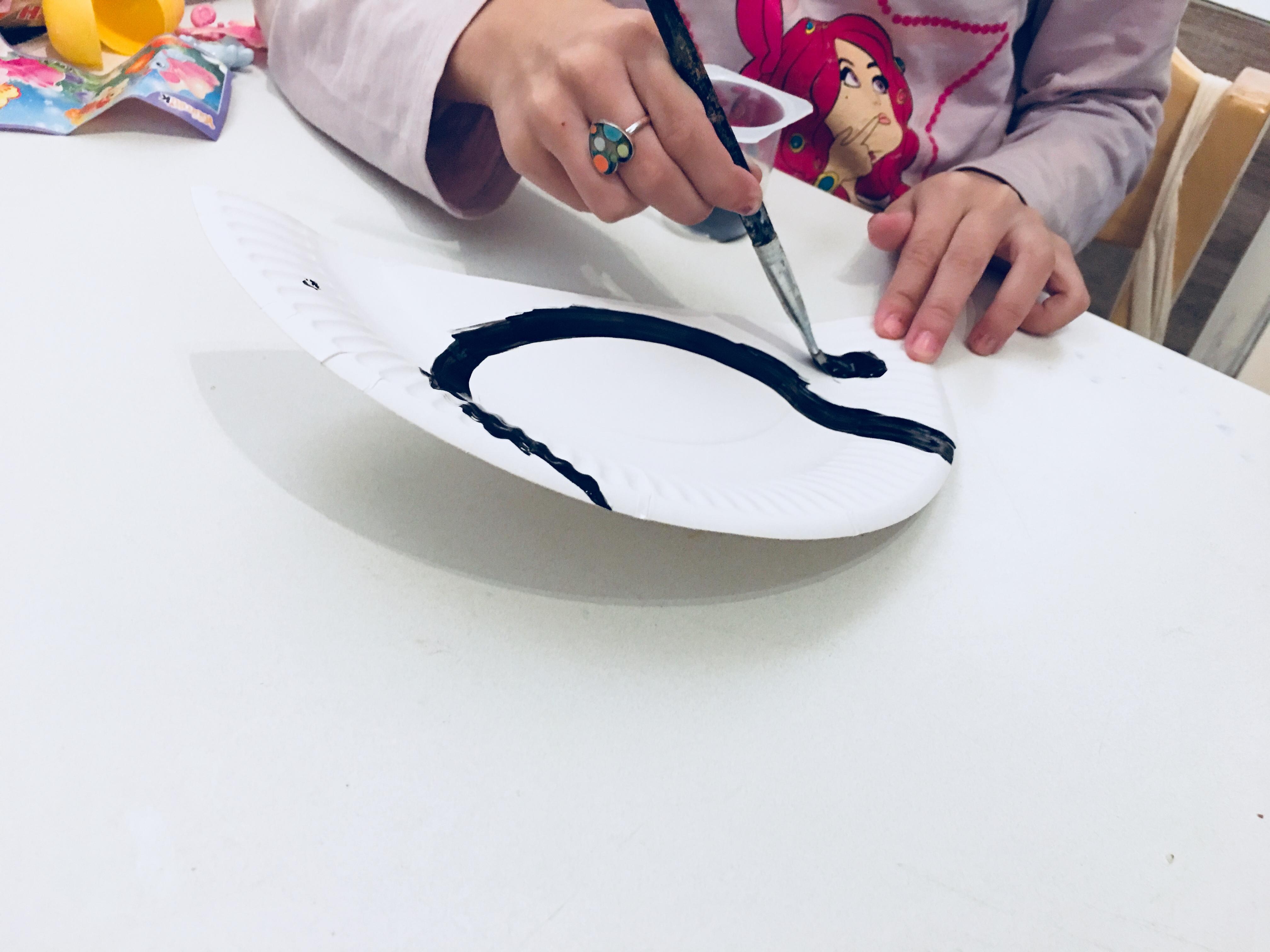 einen pinguin malen