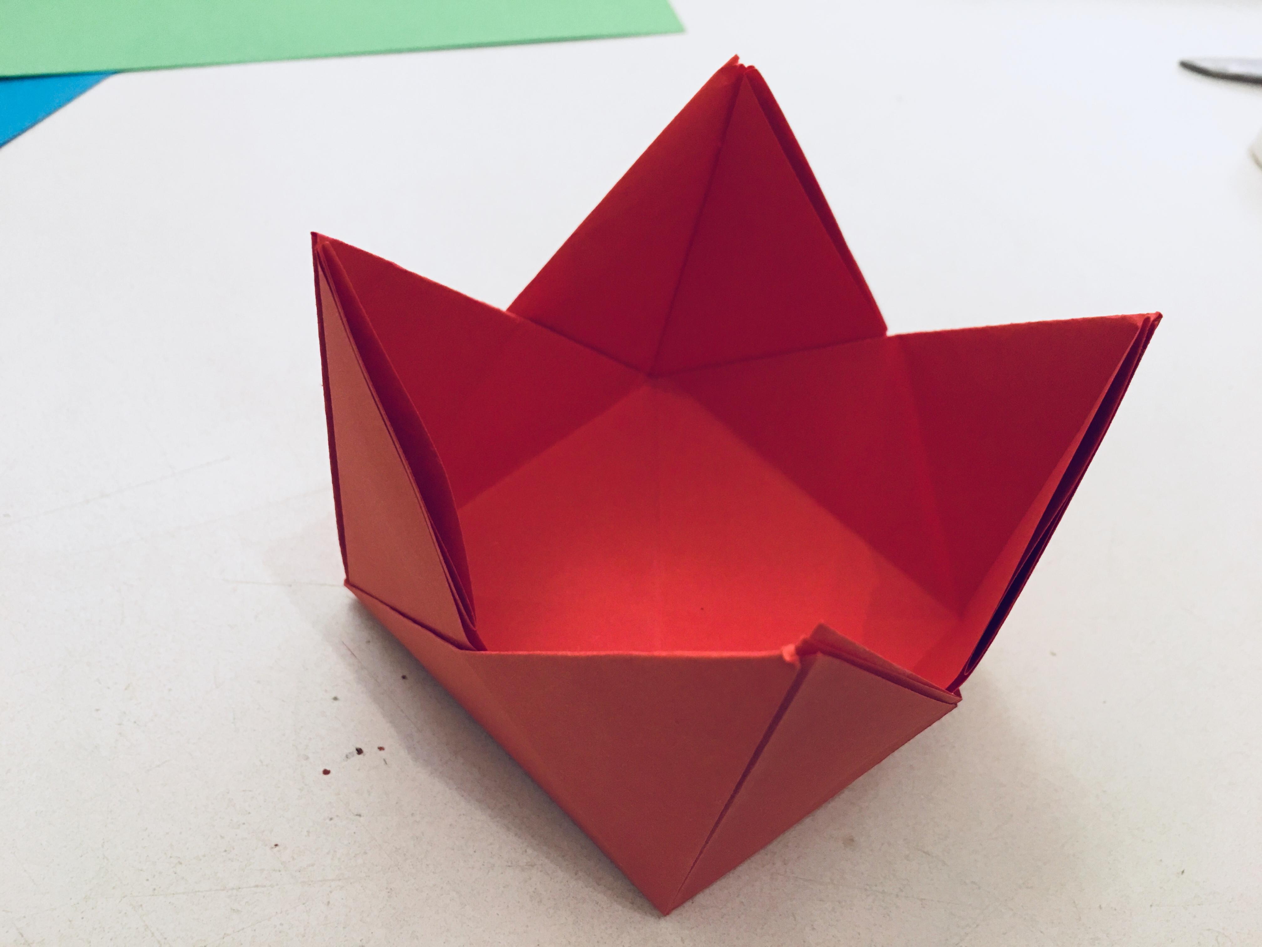 Teelichthalter Aus Origami - Basteln Mit Kindern