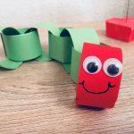 Die kleine Raupe Nimmersatt – Basteln mit Kindern