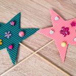 Feen Zauberstab selber basteln – Basteln für Kinder