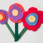 Frühlingsblumen die nicht verwelken – Basteln im Frühling