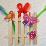Frühlingsgarten für zu Hause – Basteln mit Kindern