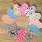 Osterkranz aus Pappteller – Basteln mit Kindern