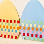 Ostereier weben – Basteln mit Kindern