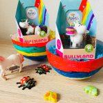 DIY Osternester mit toller Füllung von BULLYLAND