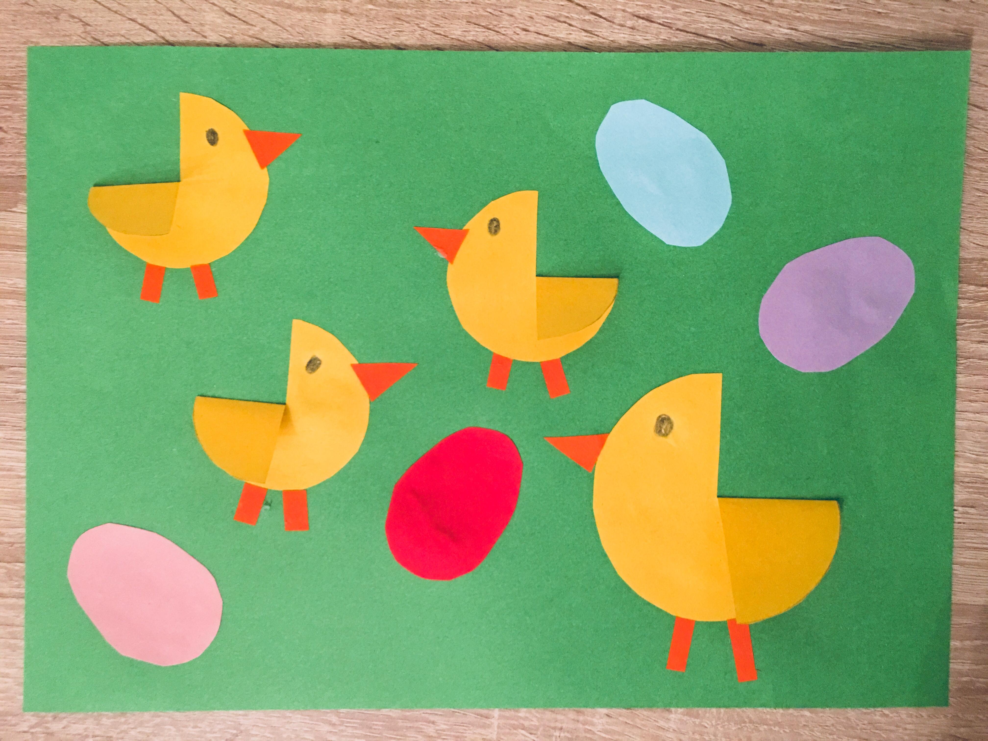 Hühnerfamilie Aus Papier Basteln Mit Kindern Der Familienblog