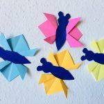 M.J. bastelt Schmetterlinge – Basteln mit Kindern