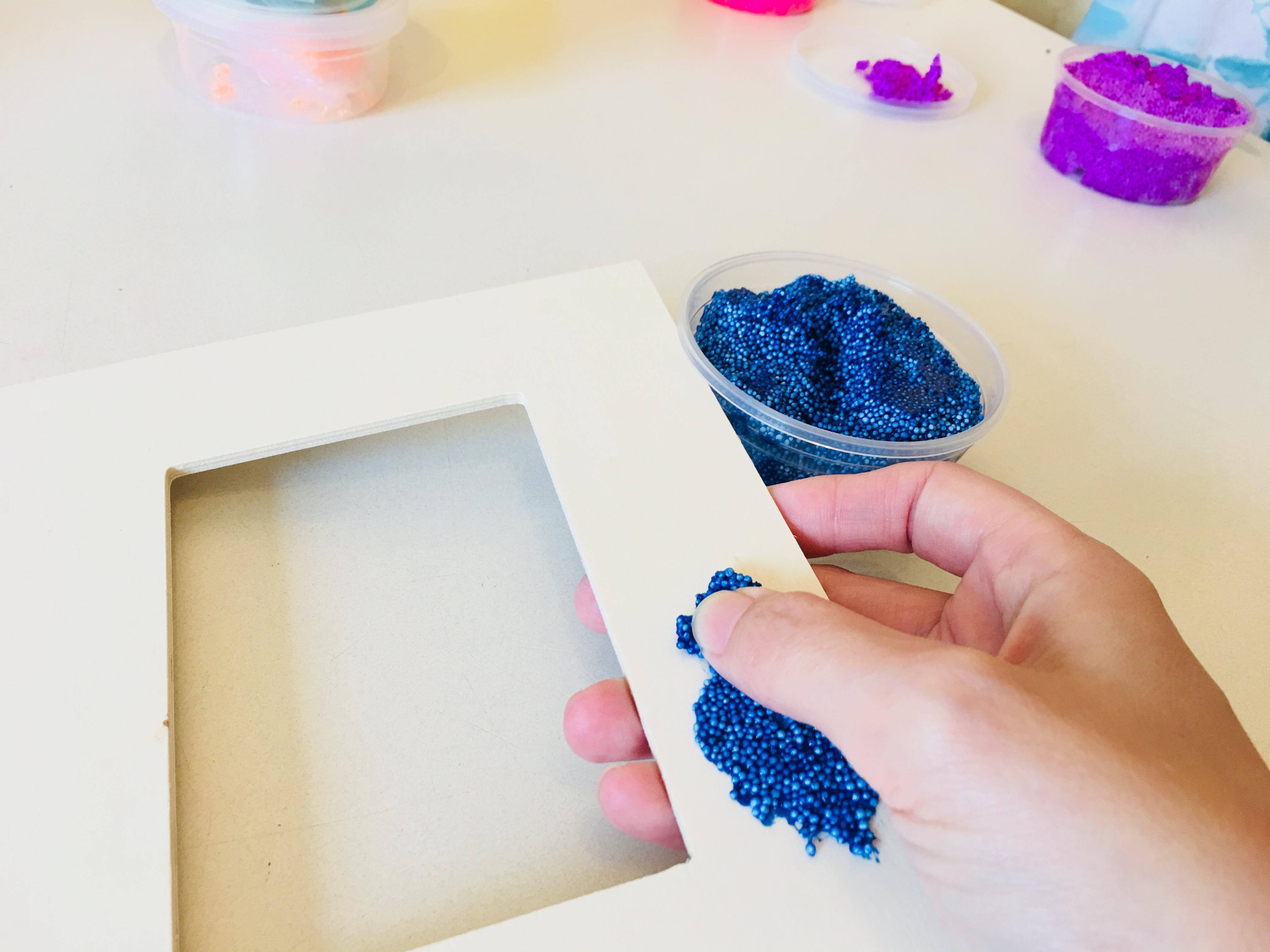 einen bilderrahmen selbst gestalten - kreativ mit kindern | der