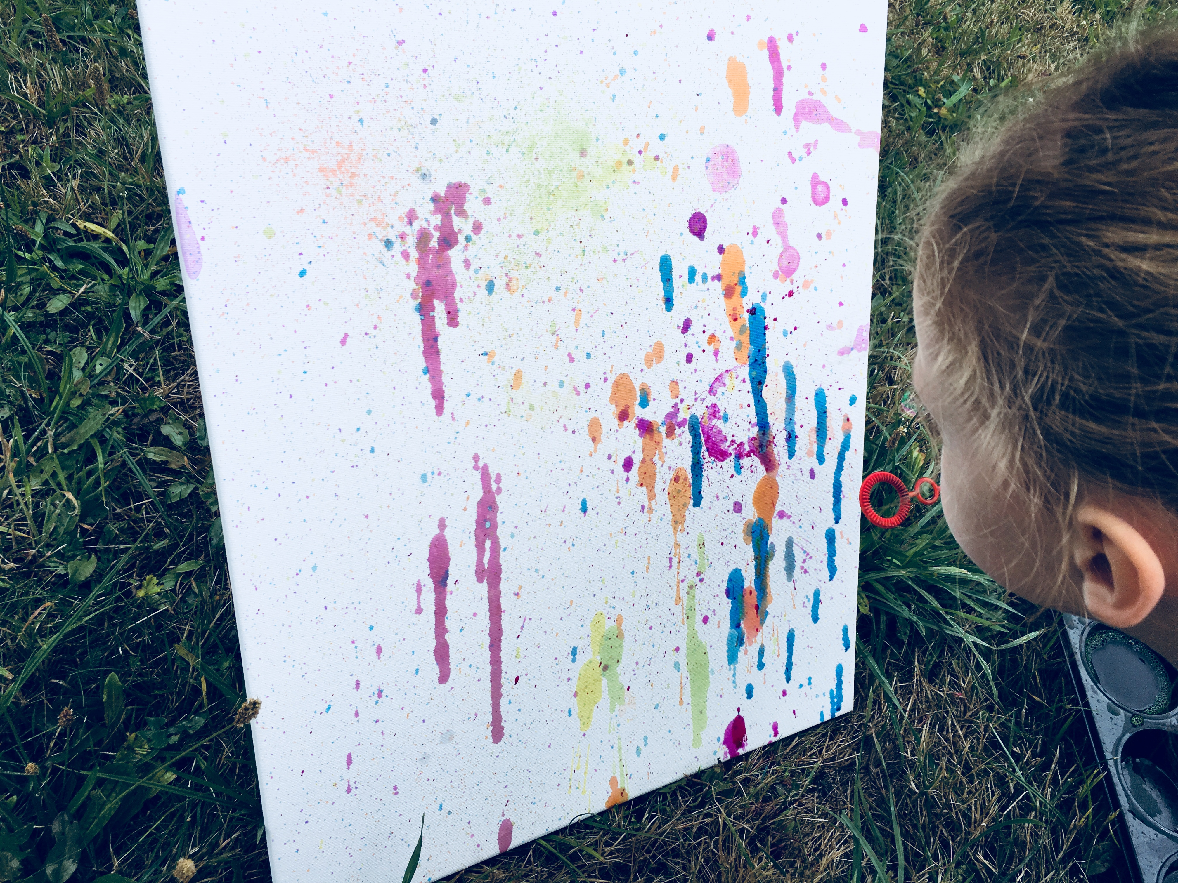Seifenblasen Bild Selber Machen U2013 Kreativ Mit Kindern