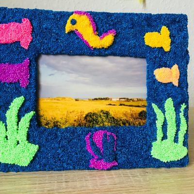 Einen Bilderrahmen selbst gestalten – Kreativ mit Kindern
