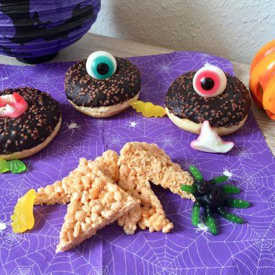 Rice Krispie Treats – Süssigkeiten zu Halloween