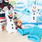 Handstulpen stricken mit Frozen und Lena Spielzeug – Spielzeugtest