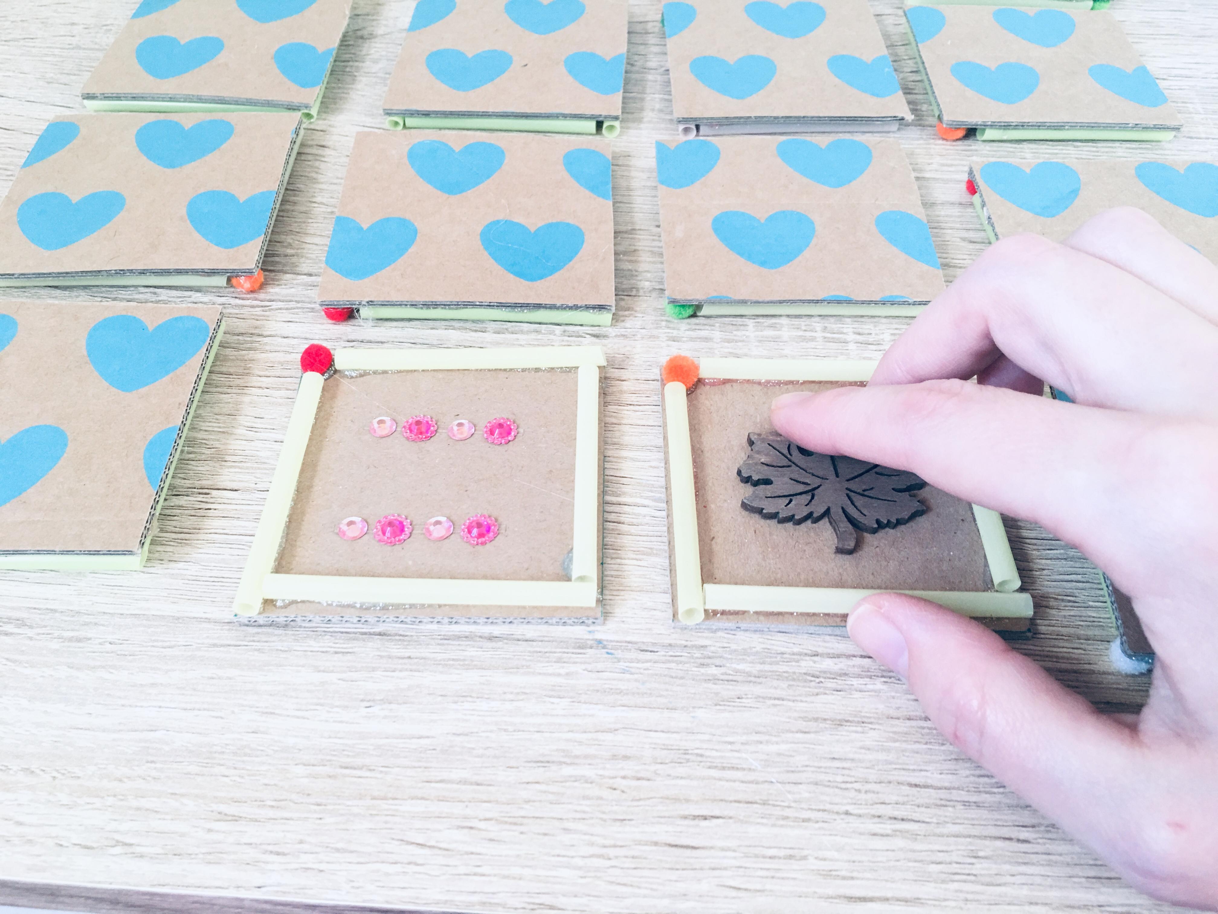 Fühlmemory Selber Basteln Montessori Sensorik Der