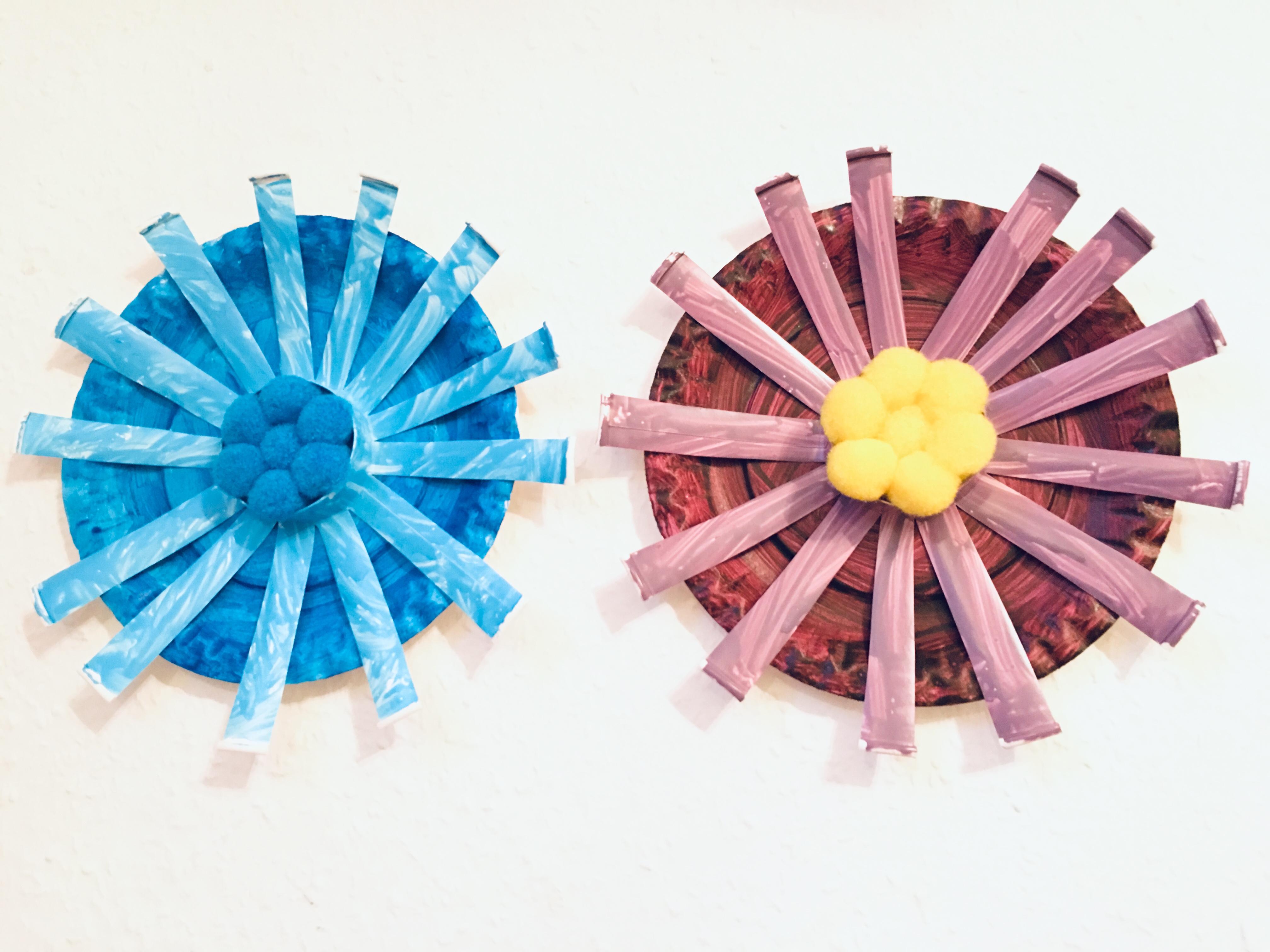 Blumen Aus Papier Basteln Mit Kindern Der Familienblog Fur