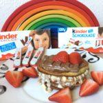 kinder Schokolade bekommt neues Design – Rezeptvorschlag + Gewinnspiel