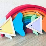 Fisch aus Eisstielen – Basteln mit Kindern