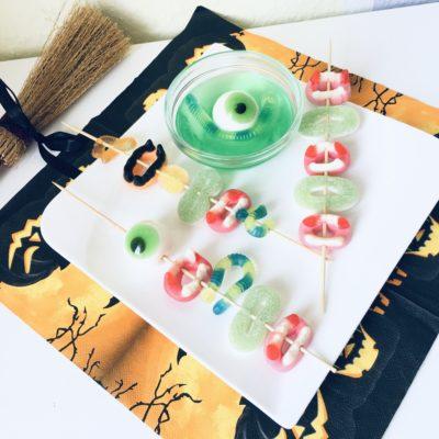 Süsses für die Halloweenparty