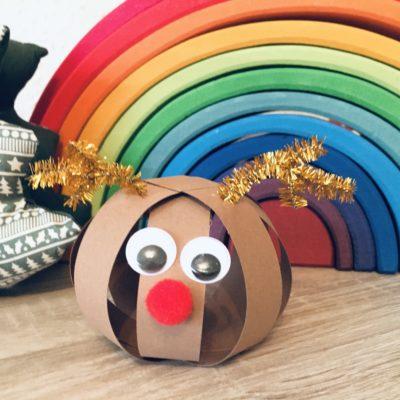 Rudolf das Rentier – Basteln mit Kindern