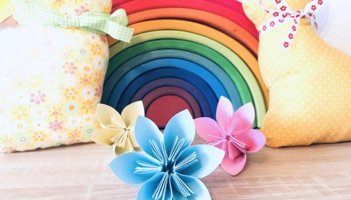 Blumen mit Papier basteln – Basteln im Frühling