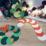 Weihnachtsbastelei mit Papier – Basten mit Kindern