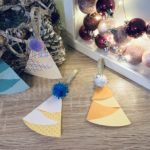 Weihnachtsbaum aus Papier basteln – Bunt zu Weihnachten