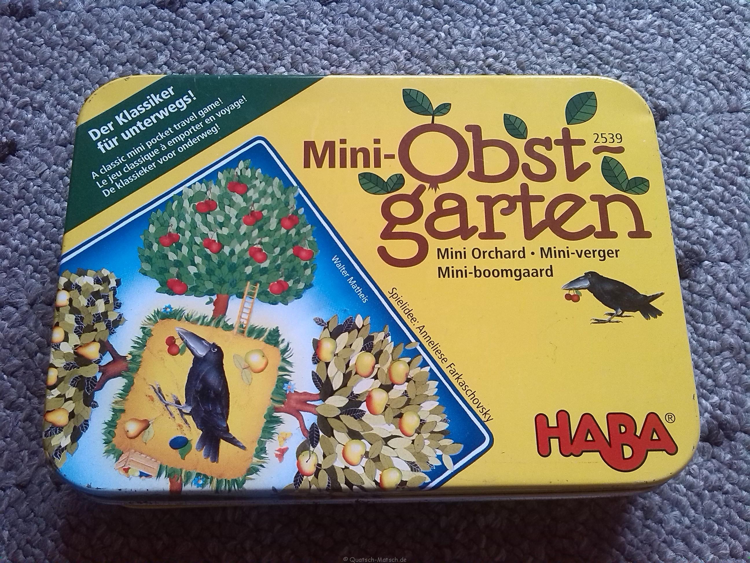 Mini Obstgarten von Haba – Spieletest