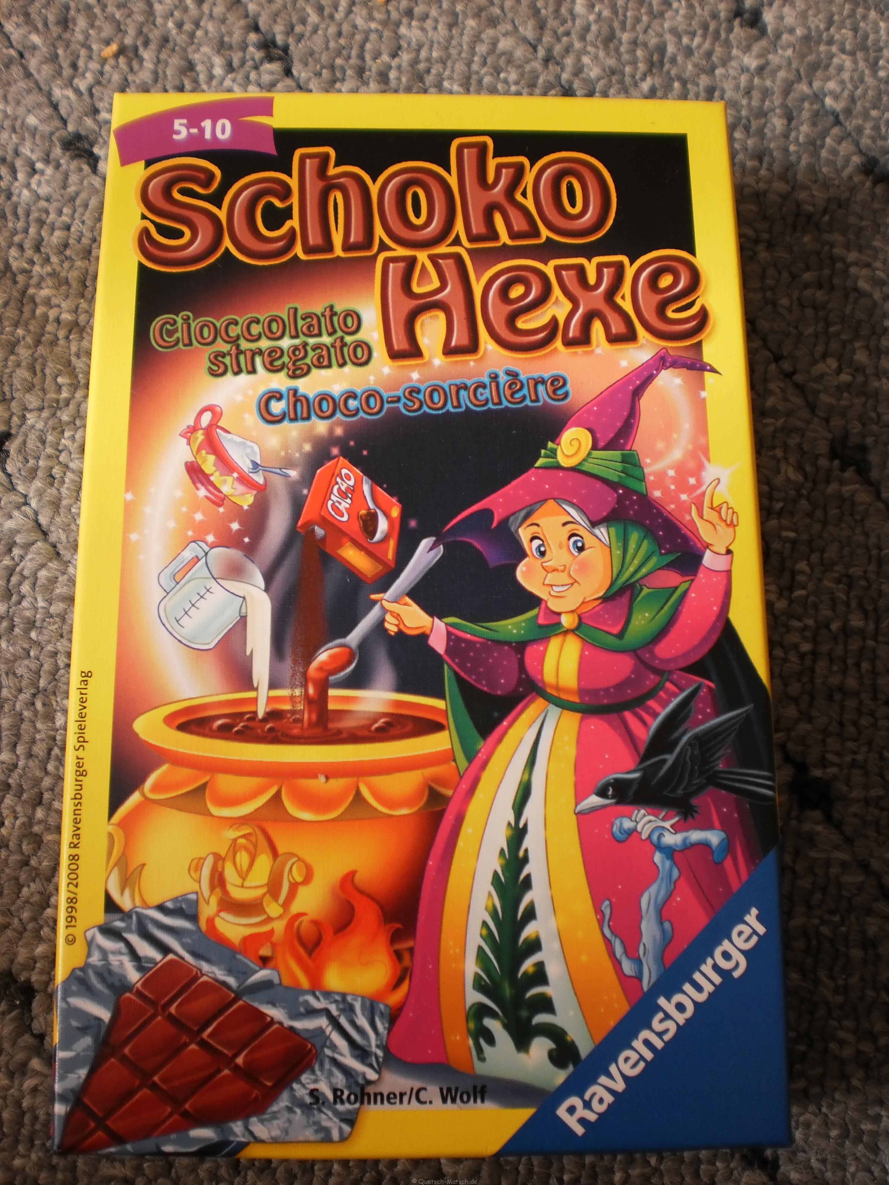 Schoko Hexe von Ravensburger im Spieletest
