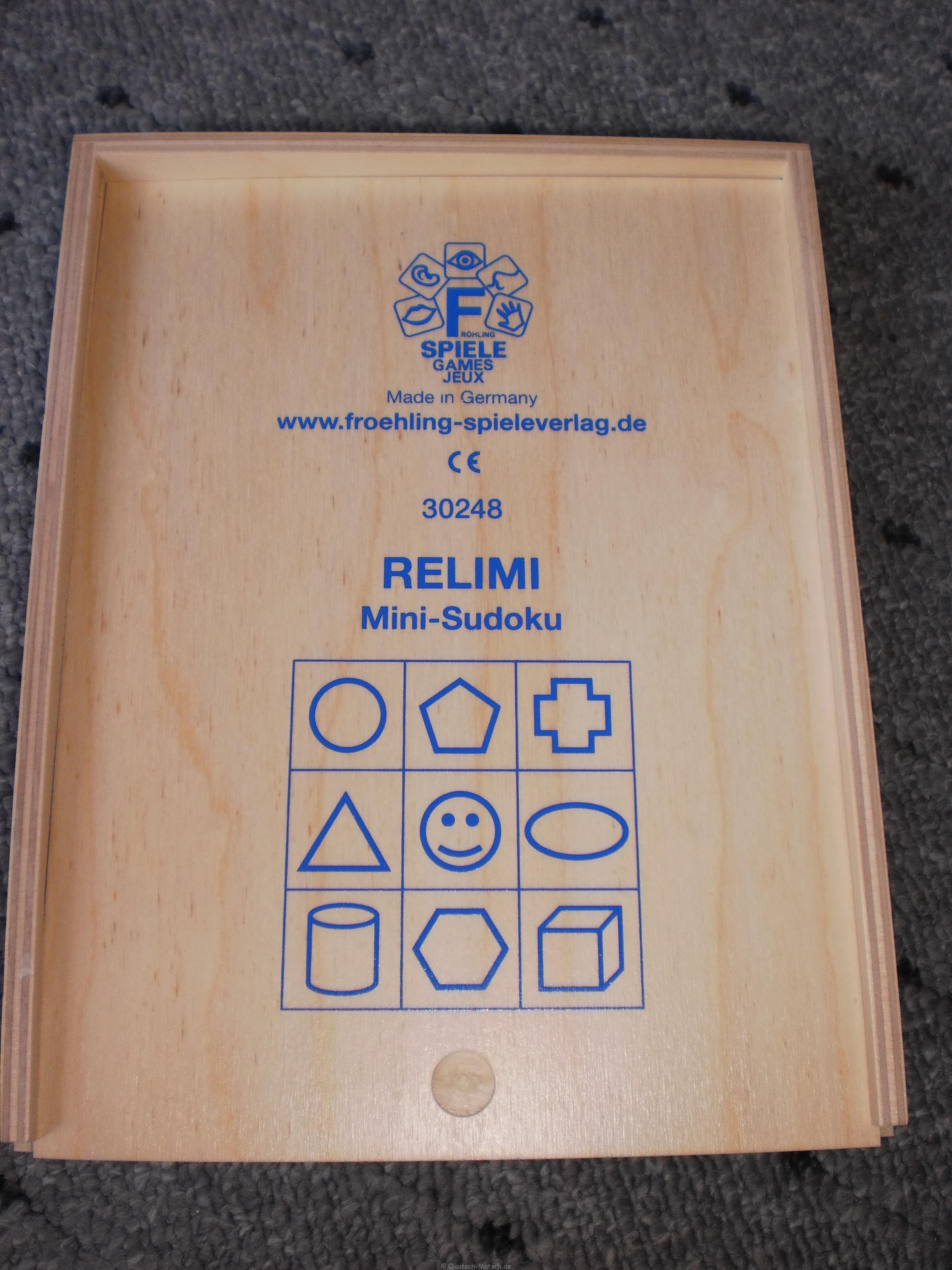Mini Sudoku und Remili von Beleduc