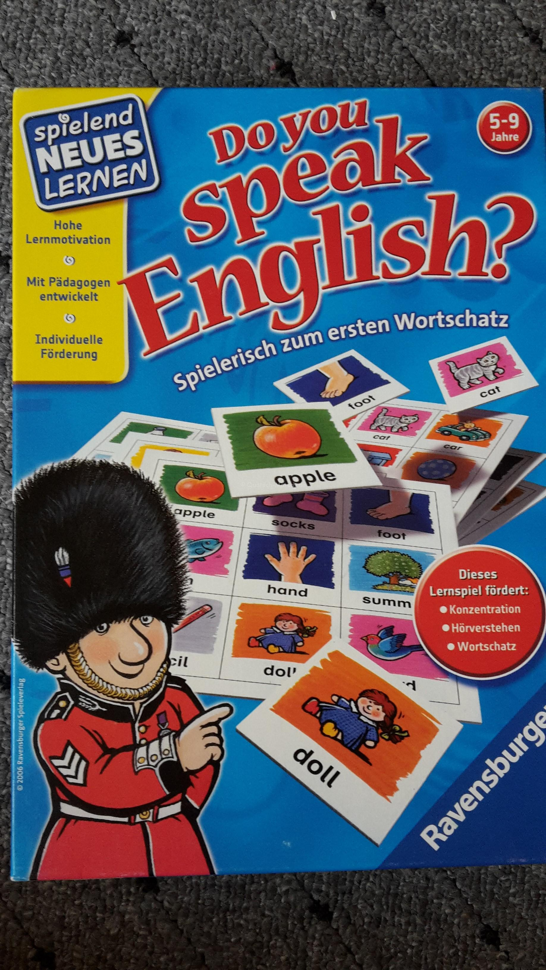 Do You Speak English? – von Ravensburger im Spieletest