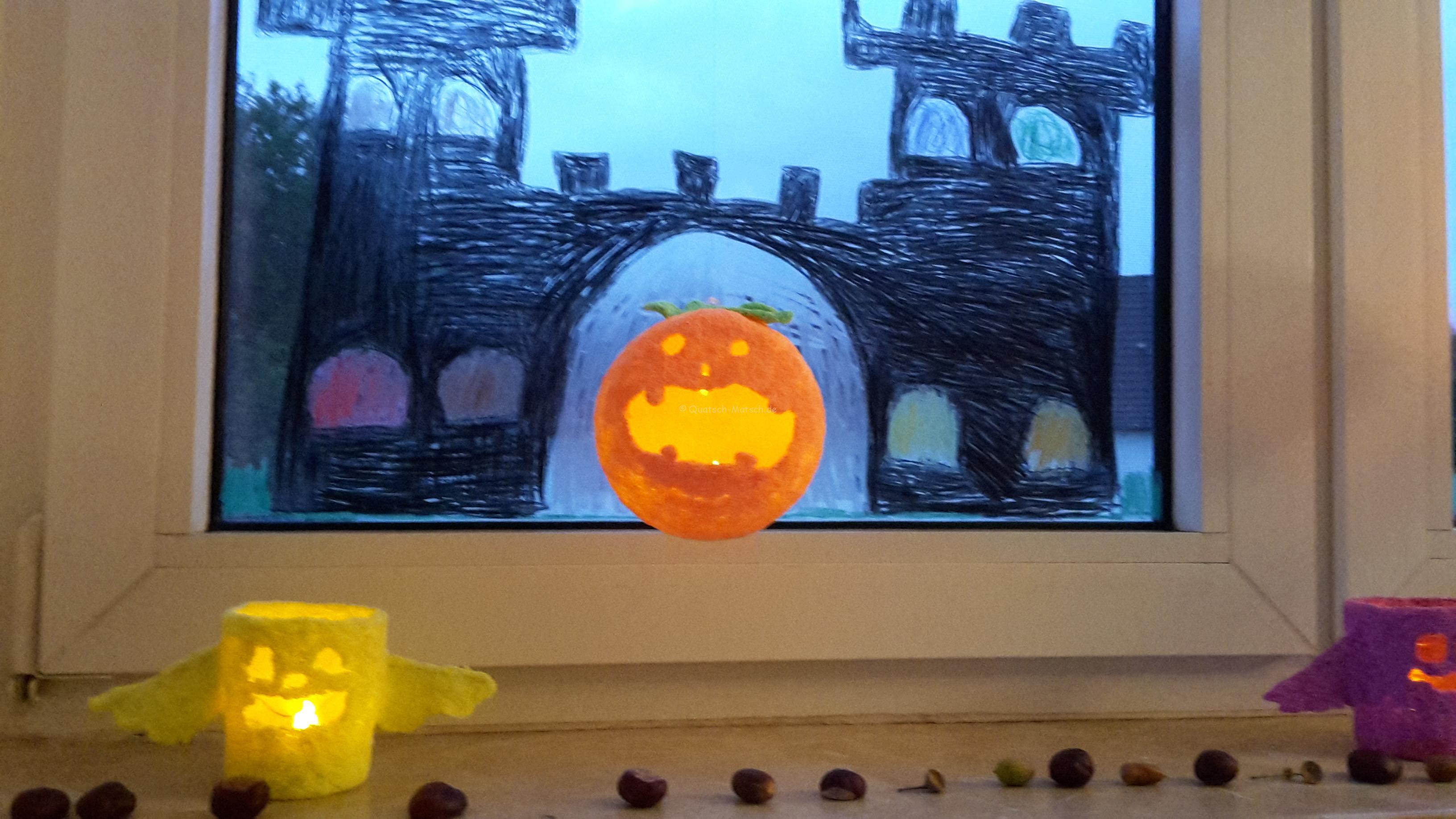 Halloween Deko mit Foam Clay und Liebe – DIY