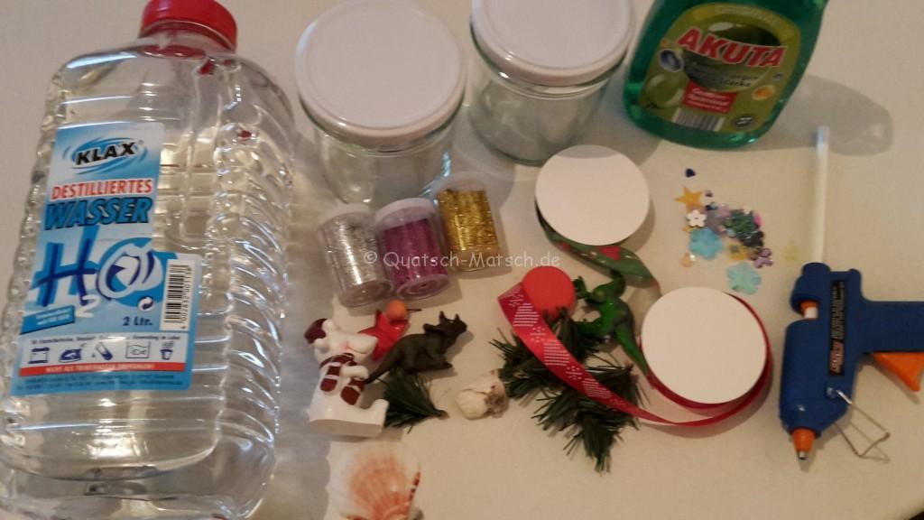 Fabulous Schneekugeln selber machen - DIY | Der Familienblog für kreative MI48