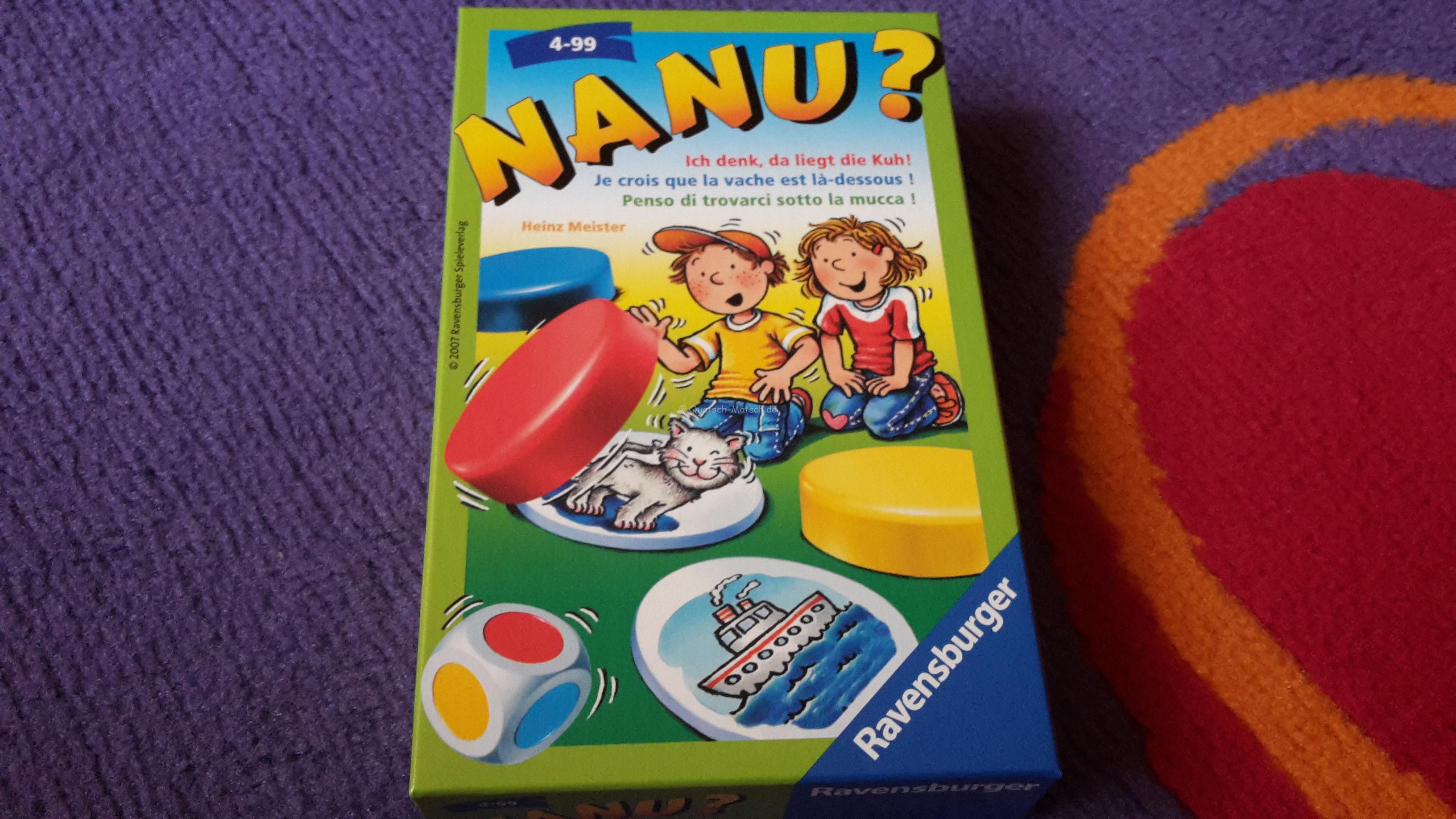 NANU? von Ravensburger im Spieletest