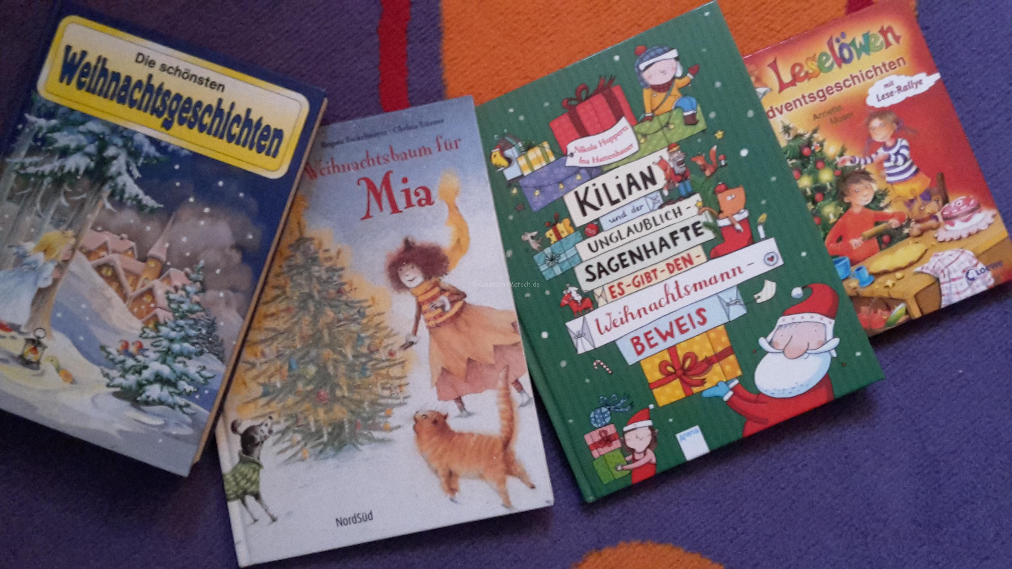 Unsere TOP 4 Weihnachtsbücher